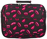 Pink Lips Padded Laptop Notebook Computer Bag