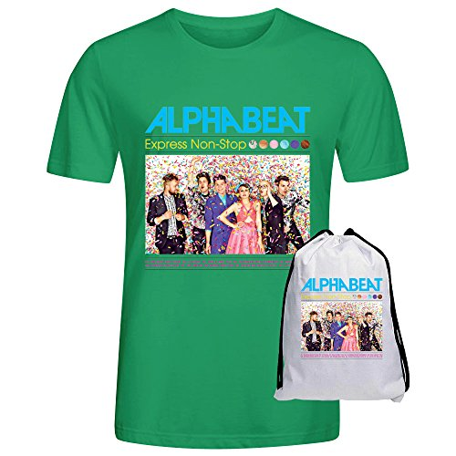 Alphabeat Express Non Stop Mens Tees Green
