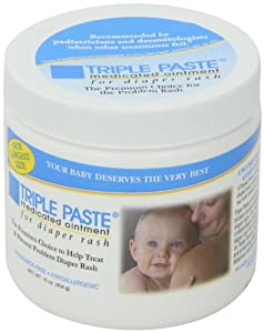 Triple Paste Medicated Ointment for Diaper Rash - 32oz