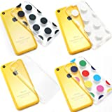 Bargain Bulk Pack of iPhone 5c Cases. Etui Le Bon (tm) case for iPhone 5C. Includes the following iPhone 5c cases. 1 x Clear iPhone 5c case, 1 x Multi colored Polka Dots iPhone 5c case, 1 x Black Polka Dots iPhone 5c case and 1 x White Polka Dots iPhone 5c case