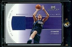 2002-03 Upper Deck MVP Materials Dirk Nowitzki Game-Used Warm-Ups Dallas Mavericks... by Upper Deck