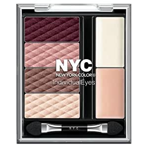 N.Y.C. New York Color Individual Eyes, Midtown Mauves , 0.056 Ounce