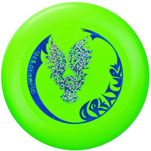 Eurodisc II 175g Ultimate Frisbee Disc CREATURE BRIGHT GREEN