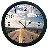 meSleep Road To Nowhere 3D Wall Clock (With Glass)