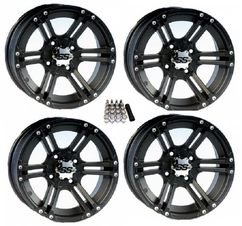 ITP SS212 ATV Wheels/Rims Black 14