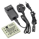 DSTE NP-40 Replacement Li-ion Battery + Charger DC29U for Fujifilm NP40, NP-40N and FinePix F460, F470, F480, F610, F650, F402, F403, F420, F455, F700, F710, F810, F811, J50, V10, Z1, Z2, Z3, Z5fd and Compatible with Kodark KLIC-7005, BENQ DLI-102, PENTA