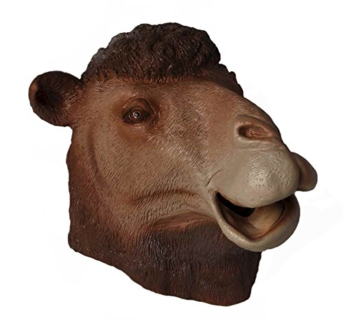 Adult Latex Full Head Camel Costume Mask