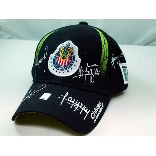 CHIVAS de GUADALAJARA OFFICIAL TEAM LOGO CAP / HAT   CV005