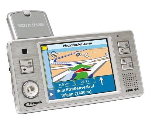 Typhoon Myguide 3500 GO Auto-Navigationssystem