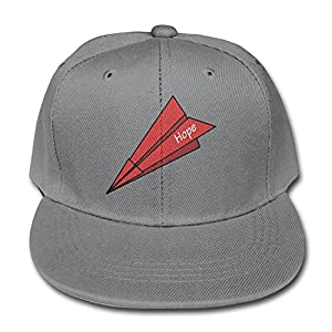 Cartoon Hope Paper Plane Suitable Ash Children Children Pure Baseball Cap