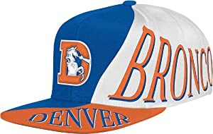 Denver Broncos Mitchell & Ness The Skew Retro Vintage Snap Back Hat by Mitchell & Ness
