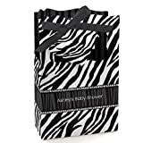 Zebra - Personalized Baby Shower Favor Boxes