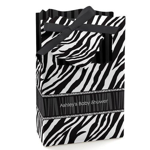 Zebra Baby Shower Favors front-738922