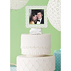 Martha Stewart Celebrate: Eyelet Photo Cake Topper