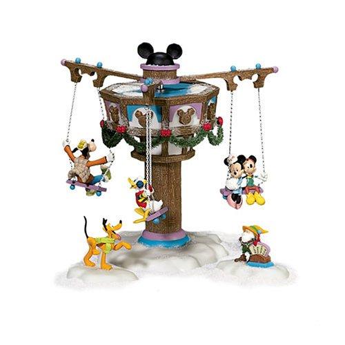 Amazon.com - Department 56 North Pole Swinging Disney Fab 5 (3-piece set) - Holiday Figurines