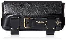 Vivienne Westwood Bondage Bag Clutch, Nero, One Size