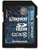 Kingston KISDHC1032GB - Tarjeta de memoria SecureDigital de 32 GB