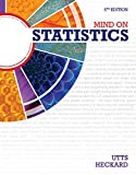 Mind on Statistics (1285463188) by Utts, Jessica M.