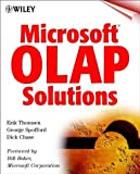 img - for Microsoft  OLAP Solutions by Thomsen, Erik, Spofford, George, Chase, Dick (1999) Paperback book / textbook / text book