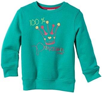 TOM TAILOR Kids sweatshirt/312 Pull  Fille - Vert - Grün (minty green) - FR : 5 ans (Taille fabricant : 110)