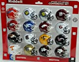 Ncaa Pocket Pro Helmets, SEC Conference Set, (2016) NEW
