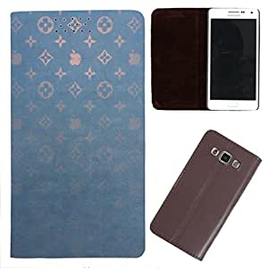 DooDa - For Samsung Galaxy Star Advance G350e PU Leather Designer Fashionable Fancy Flip Case Cover Pouch With Smooth Inner Velvet