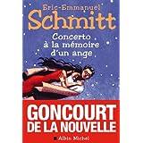 Concerto � la m�moire d'un angepar Eric-Emmanuel Schmitt