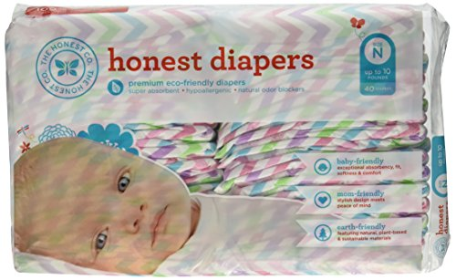 The Honest Company Diapers (Newborn, Chevron Print)