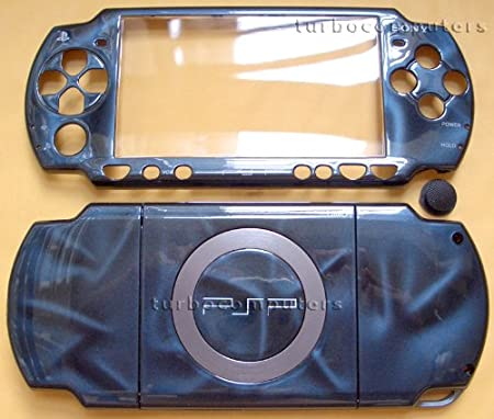 3D Blue PSP 2000 Full Shell Cover Housing Replacement with Button Set
