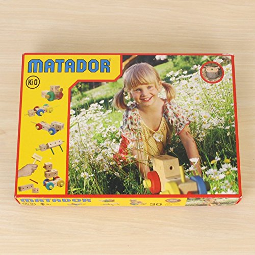 Matador Ki 0 Wooden Construction Kit (34-Piece)