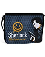 Sherlock - Smiley Face messenger bag from the BBC TV series - Official shoulder bag