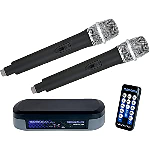 VOCOPRO TabletOke Digital Karaoke Mixer with Wireless Microphone and Bluetooth Receiver by VocoPro