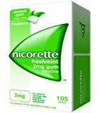 Nicorette Chewing Gum 2 mg Freshmint - 105 Pieces