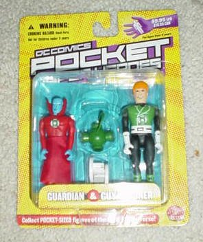DC Comics Pocket Super Heroes, Series 2: Guardian and Guy Gardner