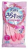 Amazon.co.jpサラサラさらキュッと ビニール手袋 中厚手 Lサイズ 1双入 YS-2L