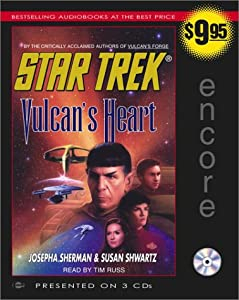 Star Trek: Vulcan's Heart by Josepha Sherman, Susan Shwartz and Tim Russ