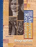 American Revolution: Biographies Edition 1. (2 volume set) (American Revolution Reference Library)