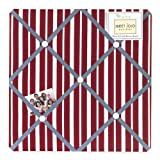 Vintage Aviator Fabric Memory/Memo Photo Bulletin Board by Sweet Jojo Designs