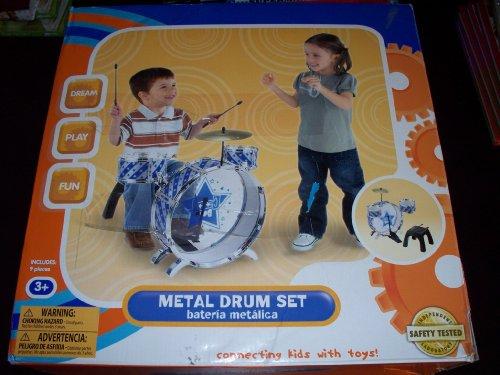 Toddler Drum Sets Great Price Kidconnection My First Metal Drum Set