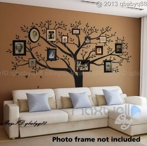 Ordinaire Giant Family Photo Tree Wall Decor Wall Sticker Vinyl Art Home Decals Room  Decor Mural Branch