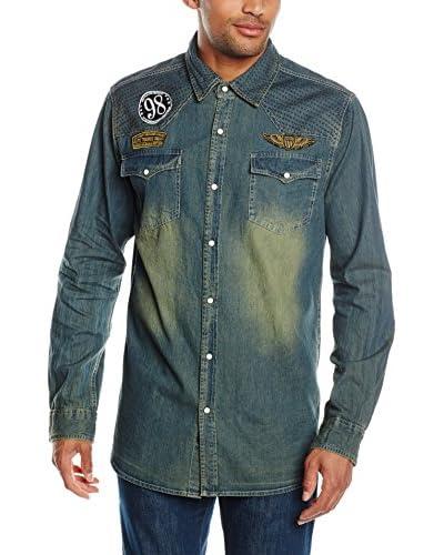 Joe Browns Camicia Denim [Blu]
