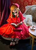 ローゼンメイデン 真紅風 コスチューム、コスプレ コスプレ衣装 完全オーダメイドも対応可能