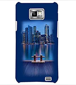 PrintDhaba Scenary D-2303 Back Case Cover for SAMSUNG GALAXY S2 (Multi-Coloured)
