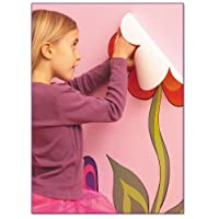 Flowers large wall stickers