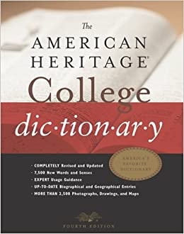 Guide to the Online American Heritage Dictionary