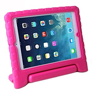 HDE Kids Light Weight Shock Proof Handle Case for iPad Air (Pink)