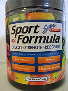 buy Sport Formula Super Powder Tub 30 Servings Fruit Punch Candy