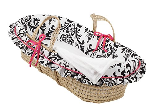 Cotton Tale Designs Moses Basket, Girly
