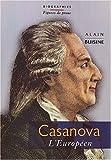 echange, troc Alain Buisine - Casanova : l'européen