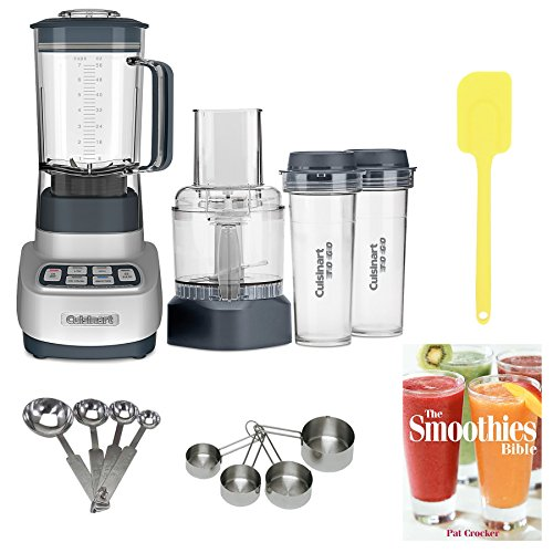 Cuisinart BFP-650 Blender/ Food Processor with Travel Cups + Accessory Bundle